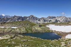 Озеро Gardioles Стоковая Фотография