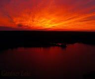 Озеро Gardner, CT стоковое изображение