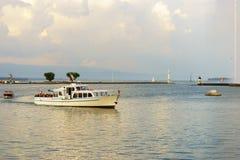 озеро geneva Стоковые Фотографии RF