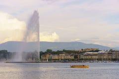 озеро geneva Стоковое Изображение RF