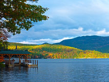 озеро george залива северо-западное Стоковое фото RF