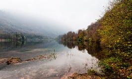 Озеро Ghirla в Италии Стоковое фото RF