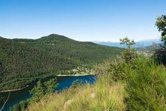 Озеро Ghirla, Valganna - Италии Стоковое Фото
