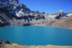 Озеро Gokyo Стоковые Изображения