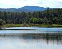 Озеро Goldwater около Prescott, AZ, Yavapai County, Аризоны Стоковое Фото
