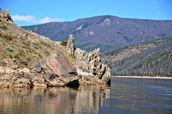 Озеро Granby, Колорадо Стоковое фото RF