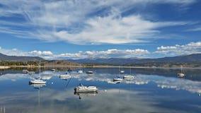 Озеро Granby, Колорадо стоковые изображения rf