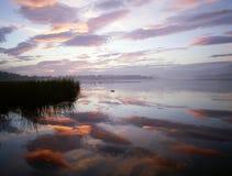 Озеро Groenvlei между Knysna & Sedgefield Стоковые Изображения