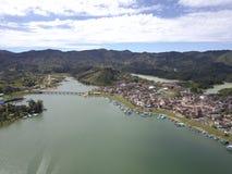 Озеро Guatapé Стоковая Фотография RF