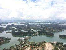 Озеро Guatape Стоковое Изображение RF