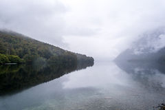озеро gunn стоковые изображения