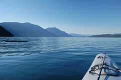 Озеро Harrison Стоковое Изображение RF