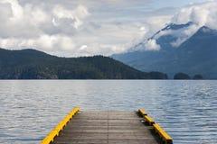 Озеро Harrison Стоковые Изображения
