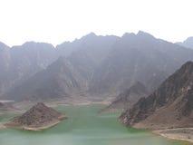озеро hatta стоковые фотографии rf