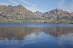 Озеро Hawea Стоковые Фото
