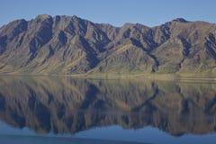 Озеро Hawea Стоковое Фото