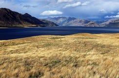 Озеро Hawea Стоковое Изображение RF
