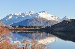 Озеро Hayes на Новой Зеландии Стоковое Изображение