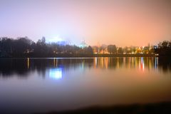 Озеро Herastrau Стоковая Фотография RF