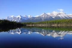 озеро herbert Стоковое Изображение