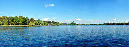 Озеро Herestrau Стоковая Фотография