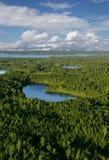 озеро hideaway Стоковая Фотография