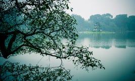 Озеро Hoan Kiem Стоковое Фото