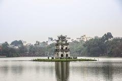 Озеро Hoan Kiem Стоковое фото RF