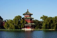 озеро houhai Стоковое Фото