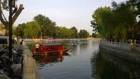 Озеро Houhai Beihai Стоковые Изображения