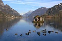 Озеро Idro Стоковая Фотография