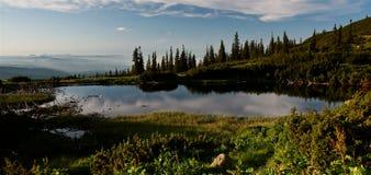 озеро iezer стоковая фотография