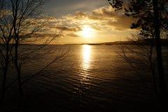 Озеро Imandra стоковая фотография rf