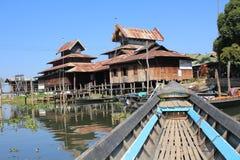 Озеро Inle в Мьянме Стоковые Фотографии RF