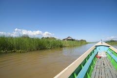 Озеро Inle, Мьянма Стоковая Фотография RF