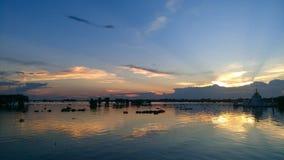 Озеро Inle стоковое изображение rf