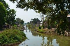Озеро Inle, положение Шани, Мьянма стоковые изображения rf