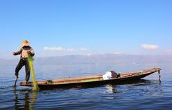 Озеро Inle Стоковые Изображения