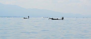 Озеро Inle Стоковое Изображение