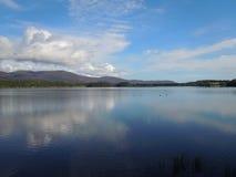 Озеро Insh Aviemore Шотландия Стоковые Фотографии RF