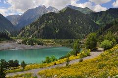 озеро issyk Стоковое Изображение RF