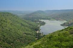 Озеро Jait Sagar Стоковые Изображения RF