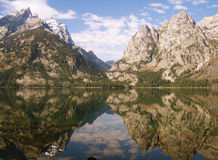 озеро jenny Стоковые Фото