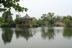 озеро jieyang западное Стоковые Фотографии RF
