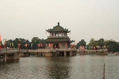 озеро jieyang западное Стоковая Фотография