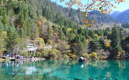 Озеро Jiuzhaigou стоковая фотография rf