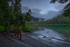 Озеро Joffre стоковые изображения rf