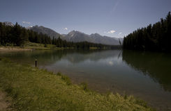 Озеро Johnson Стоковое фото RF