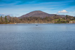 Озеро Junaluska, Северная Каролина Стоковое фото RF