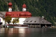 Озеро Königssee Стоковое Изображение